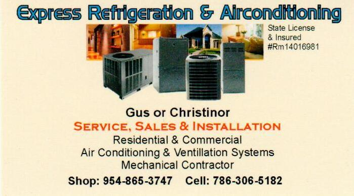 Express Refrigeration & Airconditioning