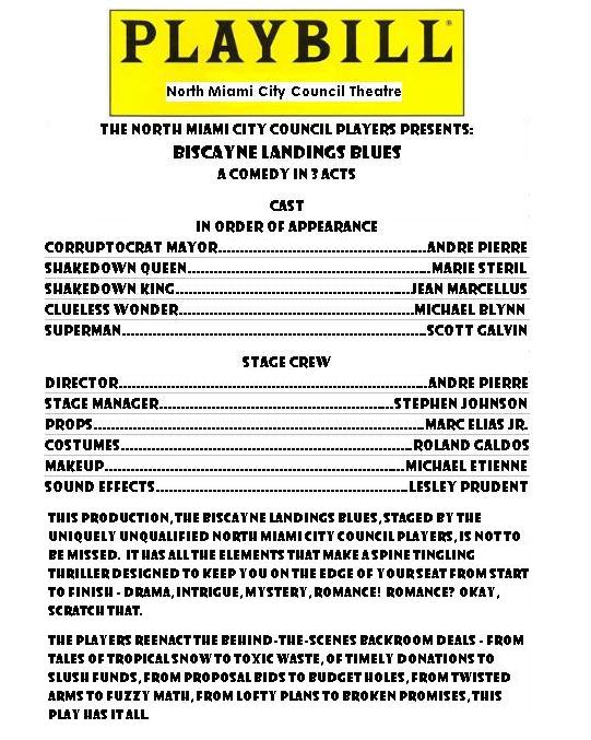 Sample Playbill Related Keywords - Sample Playbill Long ...